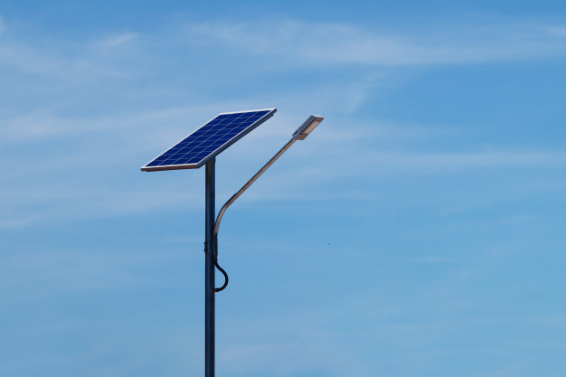 Palm Tree Solar Street Light